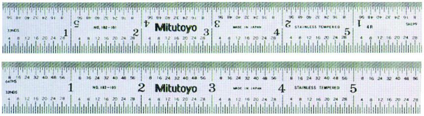 MICROMEX  Mitutoyo  Regla Graduada  Graduated Rule